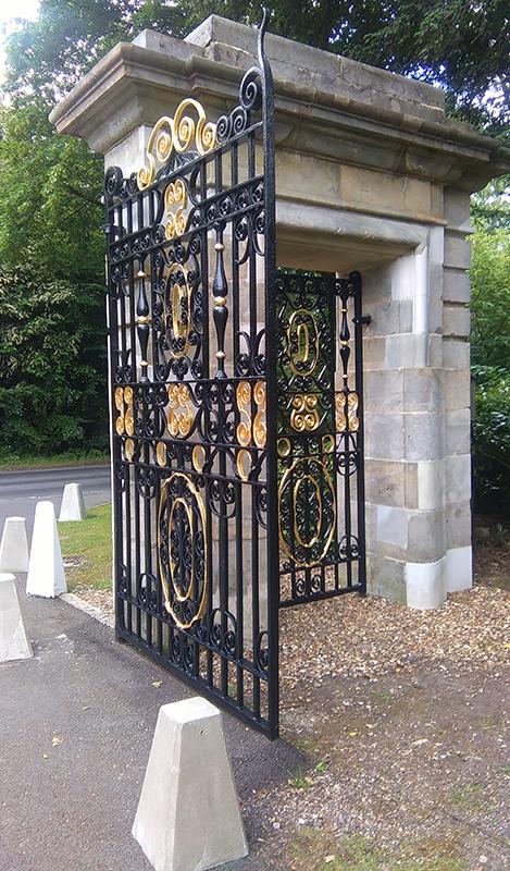 Hedsor gates